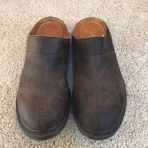 Dr Martens men's SZ 10 leather mules.